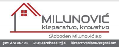 Kleparstvo, Krovstvo MILUNOVIĆ, Slobodan Milunović s.p.