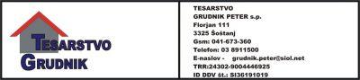 TESARSTVO GRUDNIK PETER S.P.